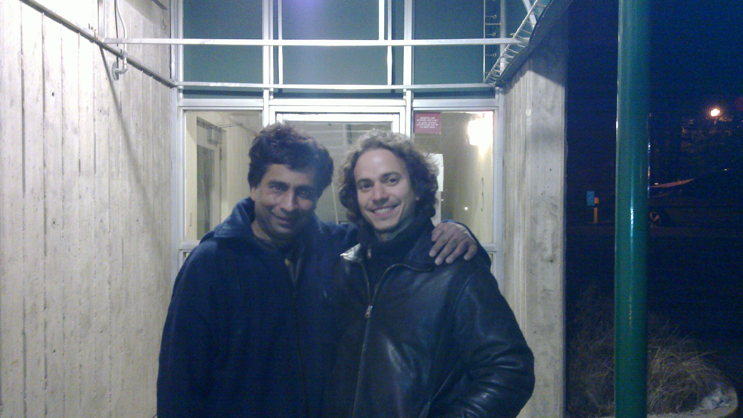 Banff Center with percussionist Dafnis Prieto
