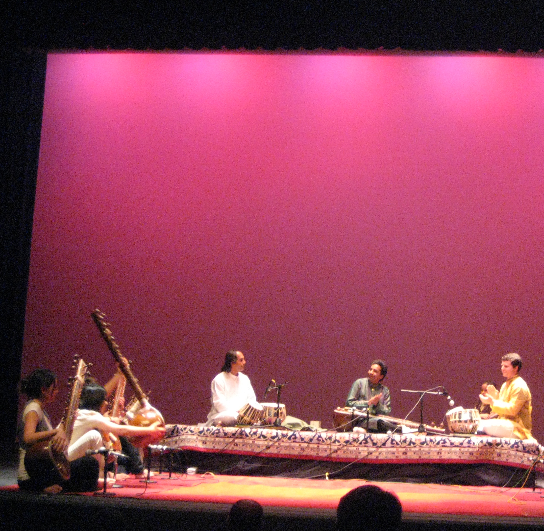 Conducting the UCSD Indian Music Ensemble