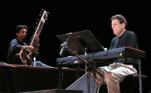Orion  - on stage with Philip Glass