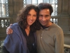 with Greek singer Eleftheria Arvinataki